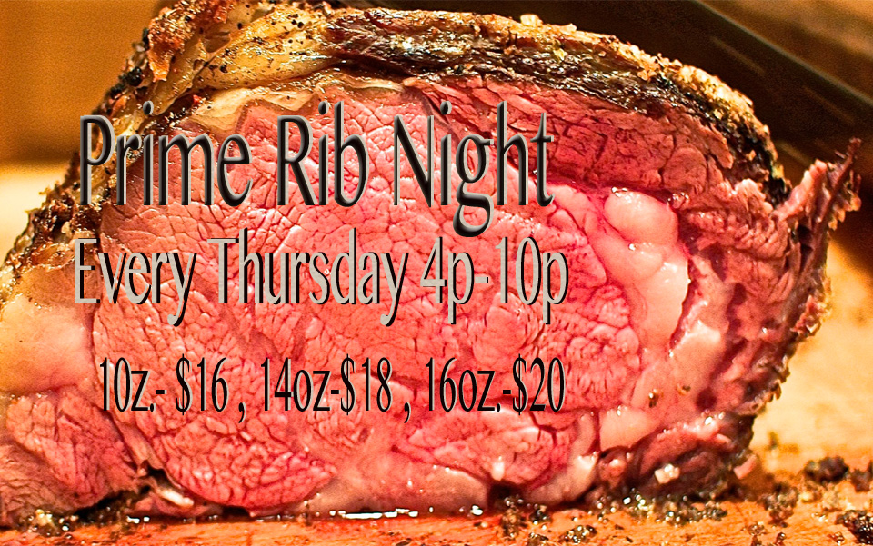 Prime Rib Night summer